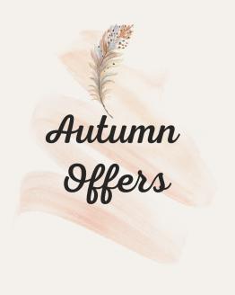 Autumn Offers - Sept/Oct